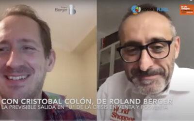«Venta y posventa de automoción en España saldrán de la crisis del COVID-19 en U». Cristóbal Colón, de Roland Berger